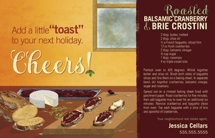 Corefact Seasonal - Holiday Recipe