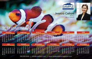 Corefact Magnets - Calendar 2017 - Animal 03 (Mailer)