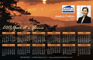 Corefact Magnets - Calendar 2017 - Scenic 03 (Print Only)