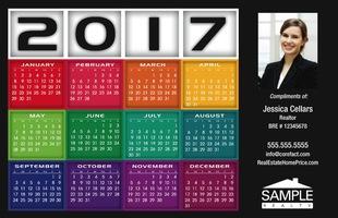 Corefact Calendar 2017 - Squares 01