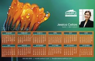 Corefact Calendar 2017 - Floral 01