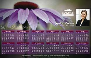 Corefact Calendar 2017 - Floral 02