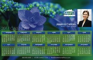 Corefact Calendar 2017 - Floral 03