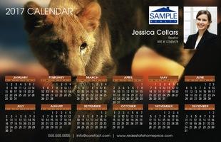 Corefact Calendar 2017 - Animal 02