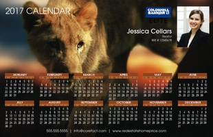 Corefact Calendar 2017 - Animal 02