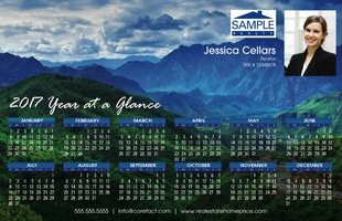 Corefact Magnets - Calendar 2017 - Scenic 01 (Print Only)