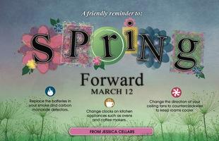 Corefact Spring Forward - Reminder