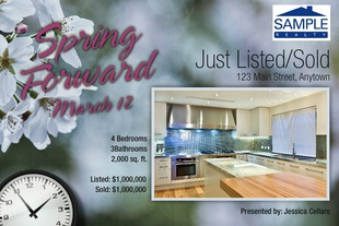 Corefact Just Listed/Sold - Spring Forward