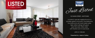 Corefact Just Listed - Black Bar 01