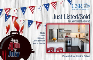 Corefact Seasonal - Just Listed/Sold July BBQ