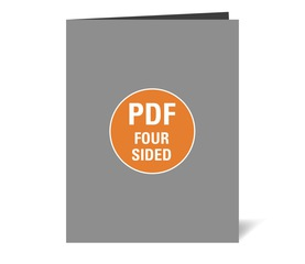 Corefact Upload - Four Sided Brochure - Book Fold