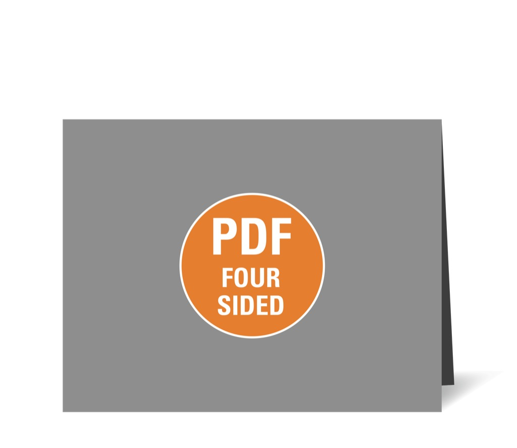 Corefact Upload - Four Sided Brochure - Calendar Fold