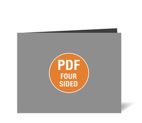 Corefact Upload - Four Sided Brochure - Panoramic Fold