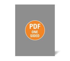 Corefact Upload - One Sided Flyer - Portrait/Letter