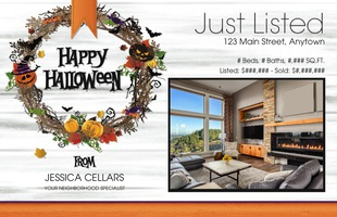 Corefact Seasonal - Just Listed/Sold Halloween